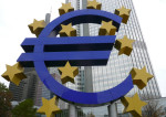 Euro devant le siège de la BCE à Francfort