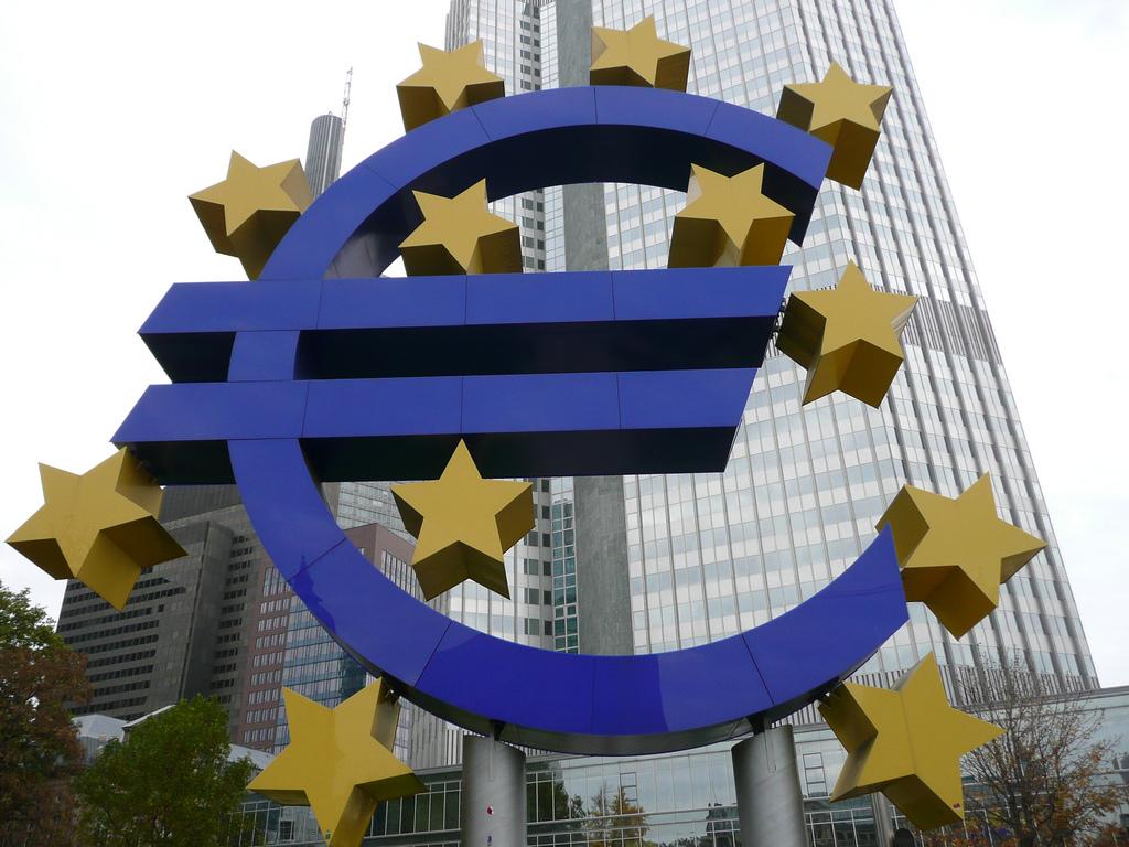 Euro BCE (Crédits Maciej Janiec, licence Creative Commons)