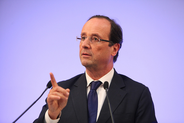 François Hollande en 2011 (Crédits : Parti Socialiste, licence CC-BY-NC-ND 2.0), via Flickr.