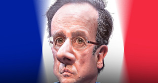 Face à l'Allemagne, Hollande lamentable