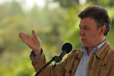 Juan Manuel Santos président de la Colombie (Crédits Ministerio TIC Colombia licence Creative Commons)