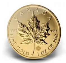 Maple Leaf Canada Or (Crédits : Monnaie royale du Canada, tous droits réservés)