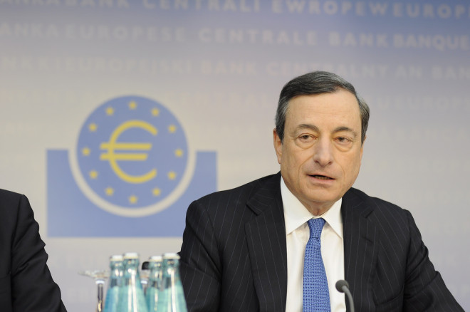 Mario Draghi en juin 2014 2 (Crédits ECB European Central Bank, licence Creative Commons)