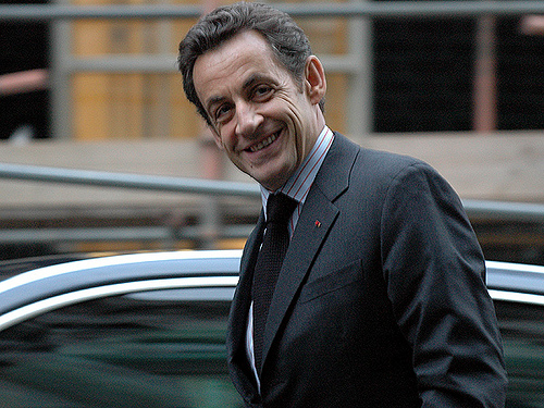 Nicolas Sarkozy à Londres (Crédits Downing Street, licence Creative Commons)