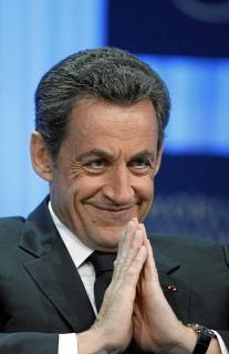 Nicolas Sarkozy (Crédits World Economic Forum licence Creative Commons)