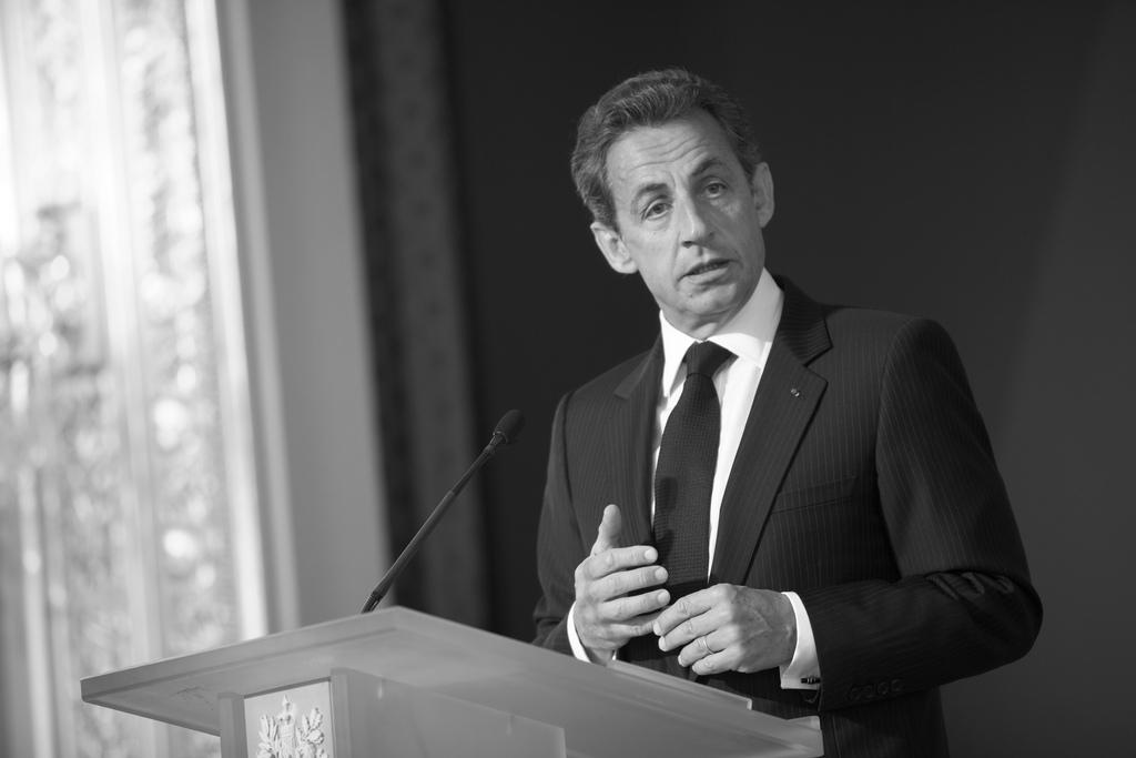 Nicolas Sarkozy lors du lancement du Conseil National du Numérique (Crédit rsepulveda, licence Creative Commonsà