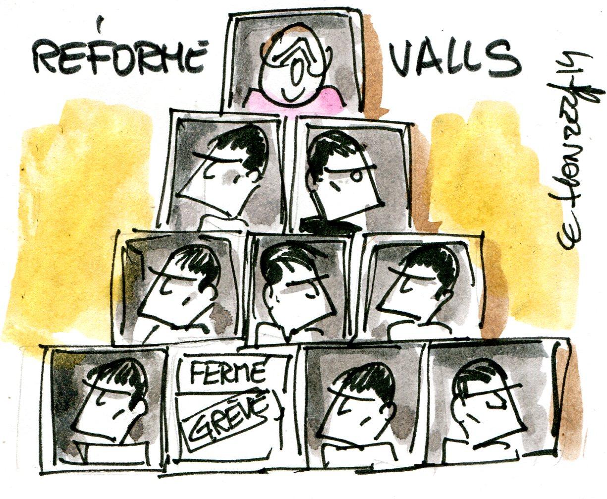 René réforme valls