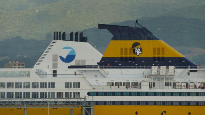 SNCM ou Corsica Ferries (Crédits JeanbaptisteM, licence Creative Commons)