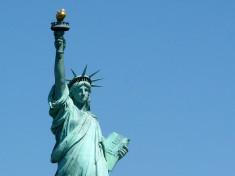 Statue de la liberté (Crédits : benonrtherun, licence Creative Commons)