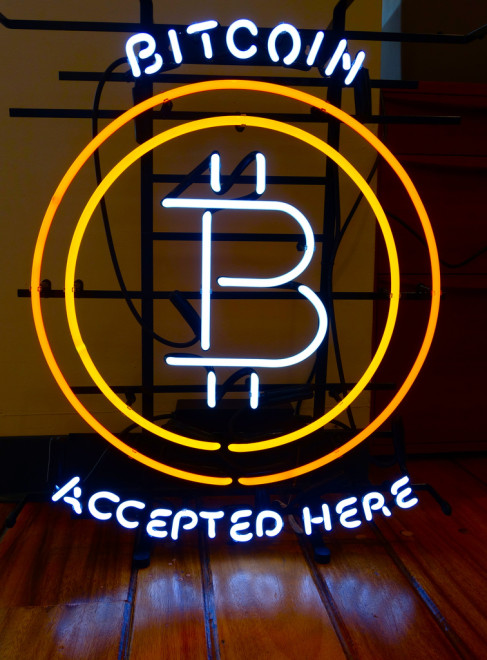 bitcoin (Crédits Steve Jurvetson, licence Creative Commons)