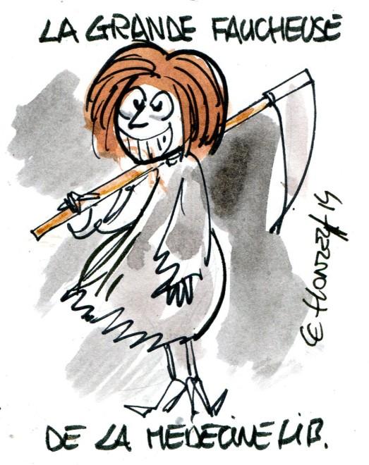 Marisol Touraine détruit la médecine libérale (Crédits : René Le Honzec/Contrepoints.org, licence Creative Commons)