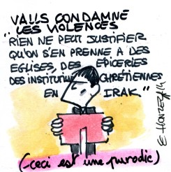Valls condamne les violences