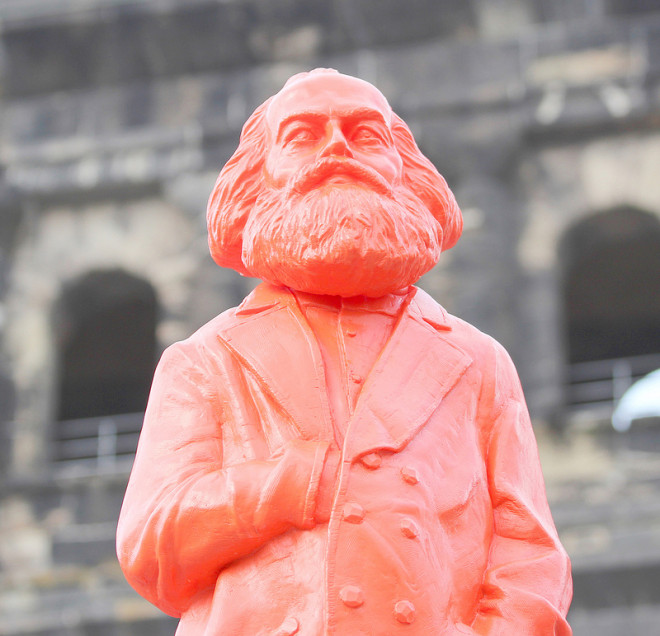 karl marx credits Eisbaarchen (licence creative commons)