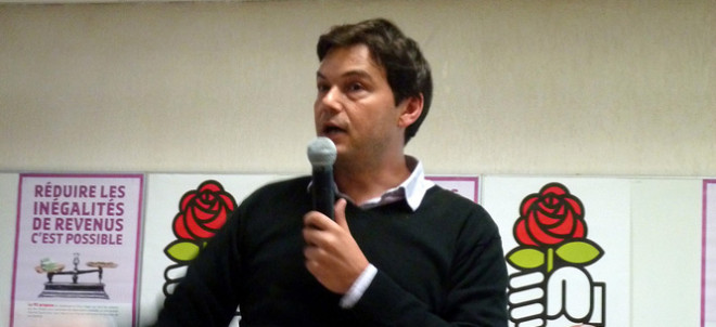 Thomas Piketty (Crédits : Parti Socialiste du Loiret, licence CC-BY-NC 2.0), via Flickr.