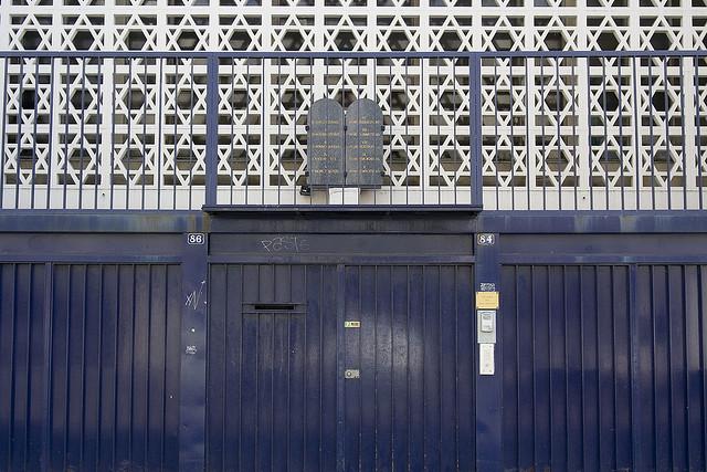 synagogue paris île de france CC Nelson Minar