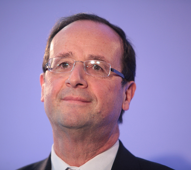 François Hollande credits Parti socialiste (licence creative commons)
