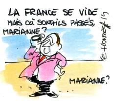 La France se vide Le Honzec