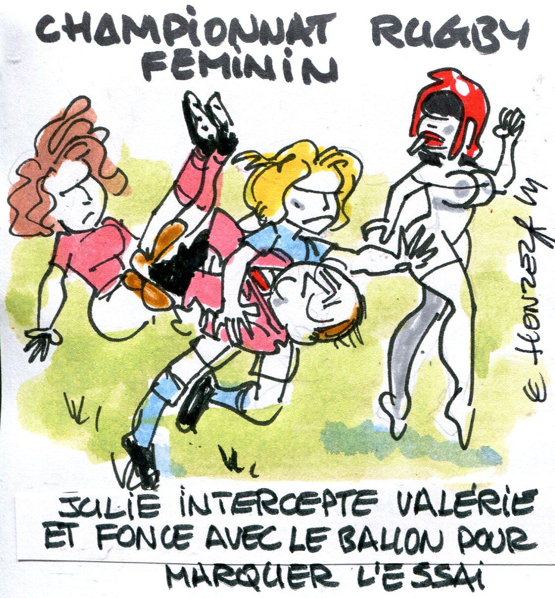 Le Honzec rugby féminin