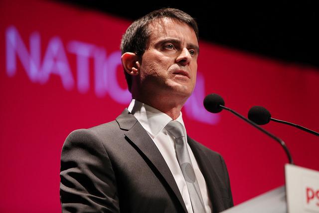 Manuel Valls en juin 2014 (Crédits : Parti Socialiste, licence CC-BY-NC-ND 2.0), via Flickr.