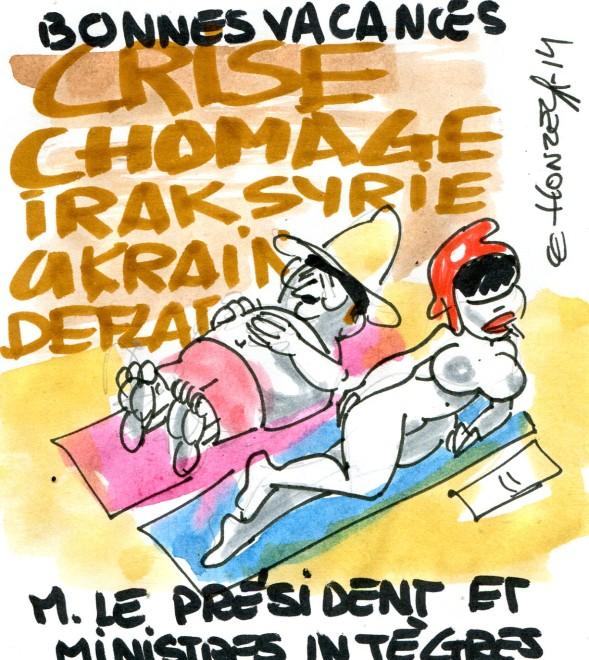 René Le Honzec les vacances des politiques
