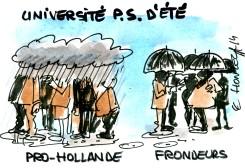 Université d'été (pourri) du parti socialiste