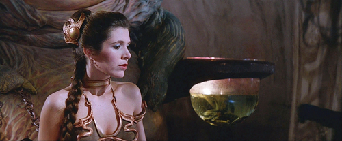 Carrie Fisher Star Wars Ep VI - image promo