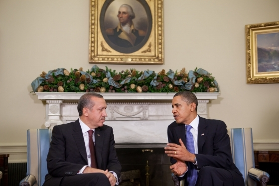 Erdogan_Obama_White_House_1 CC Crédit photo Samantha Appleton