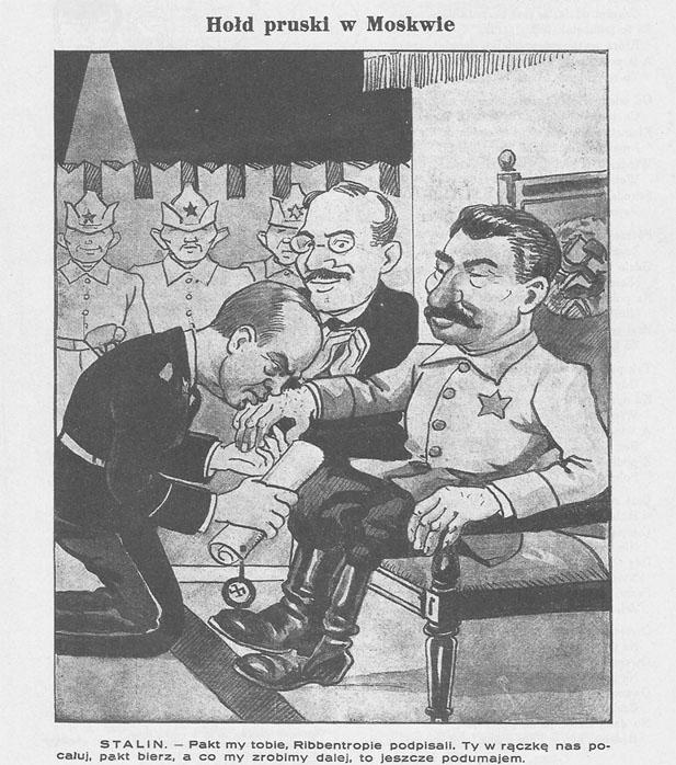 Pacte germano-soviétique - Mucha_8_Wrzesien_1939_Warszawa - CC Caricature Wikipedia