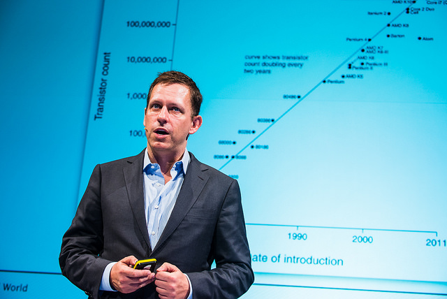 Peter Theil at the Hy! Summit - March 19, 2014 - CC Flickr Image by Dan Taylor-125