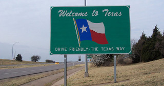 Bienvenue au Texas !