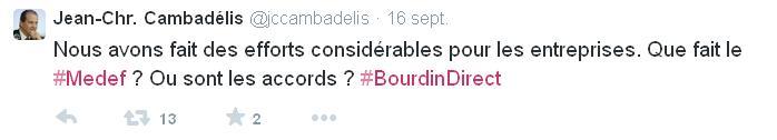 Tweet Cambadelis