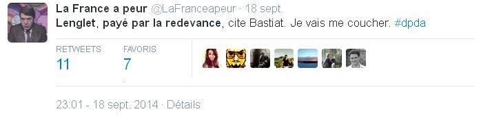 Tweet-La France a peur