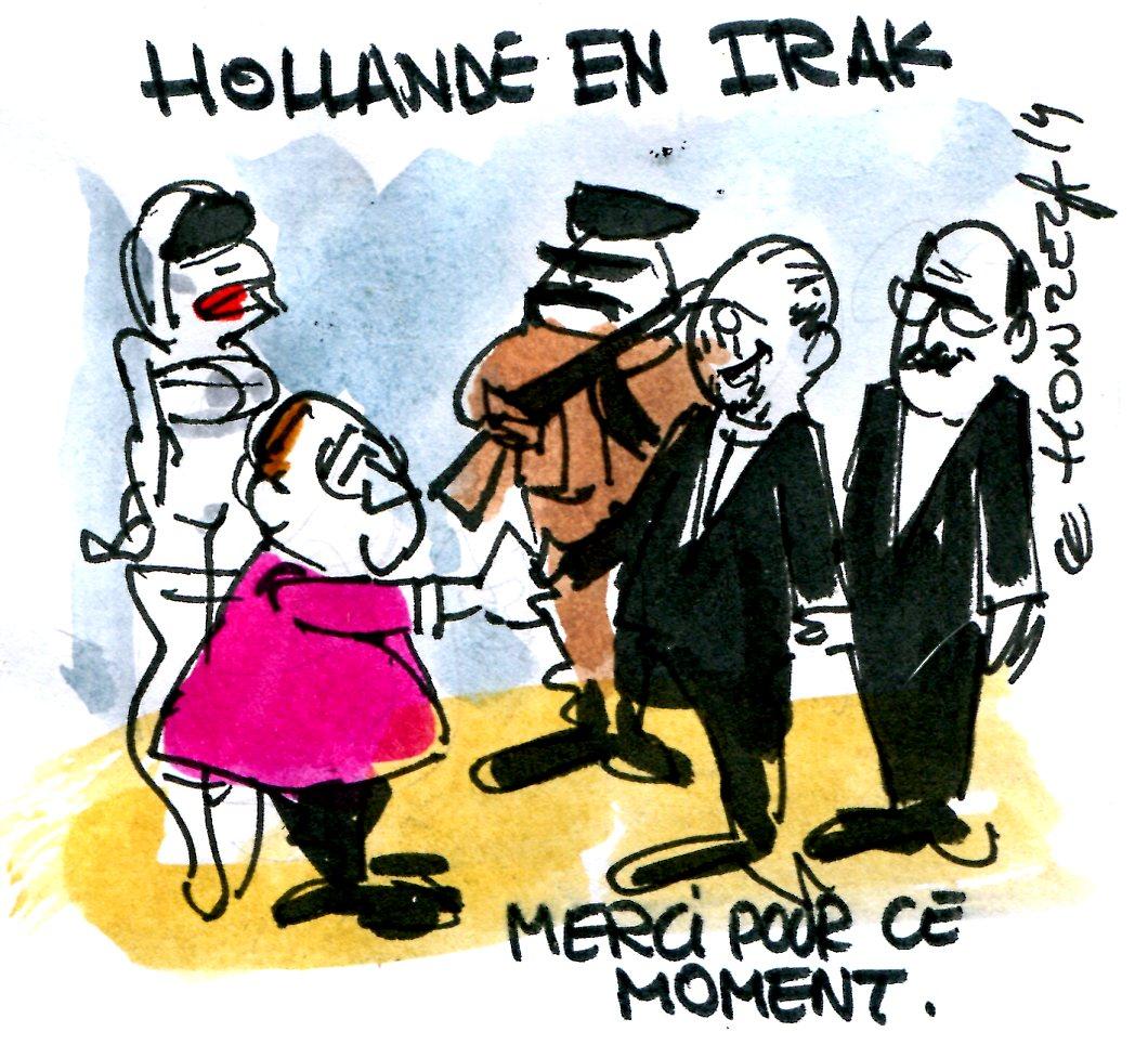 contrepoints 675 Hollande Irak