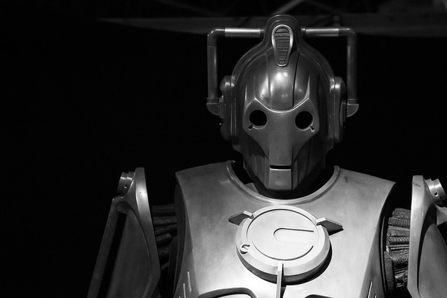 cyberman credits sharon drummond (licence creative commons)