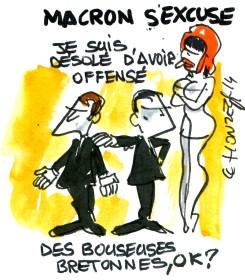 Macron n'est pas méchant...
