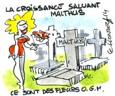 malthus croissance rené le honzec