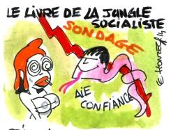 Gouvernement Valls : la décote de confiance