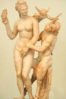 Aphrodite, Pan and Eros CC Flickr Robert Wallace