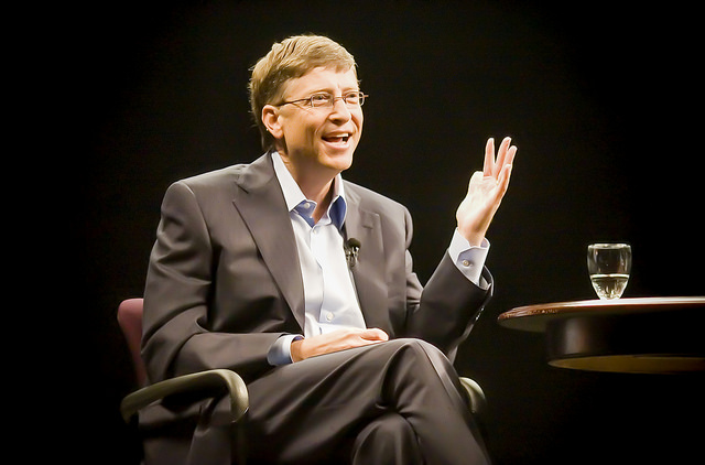 Bill Gates CC Flickr Thomas Hawk