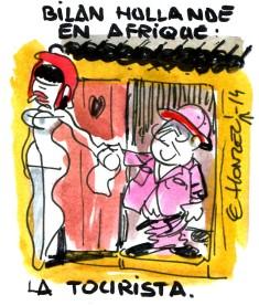 Hollande Afrique rené le honzec