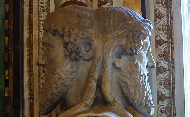 Janus bifron credits redjinn (licence creative commons)