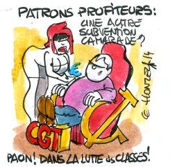 CGT : la lutte des places