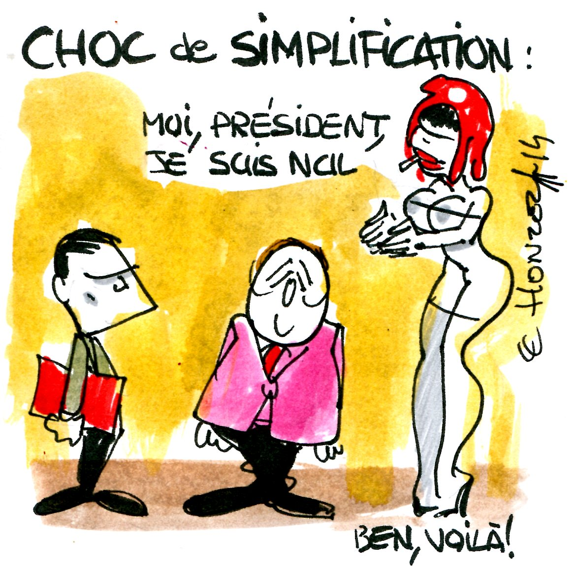 choc de simplification rené le honzec