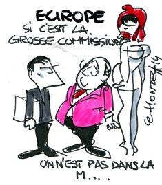 commission européenne rené le honzec