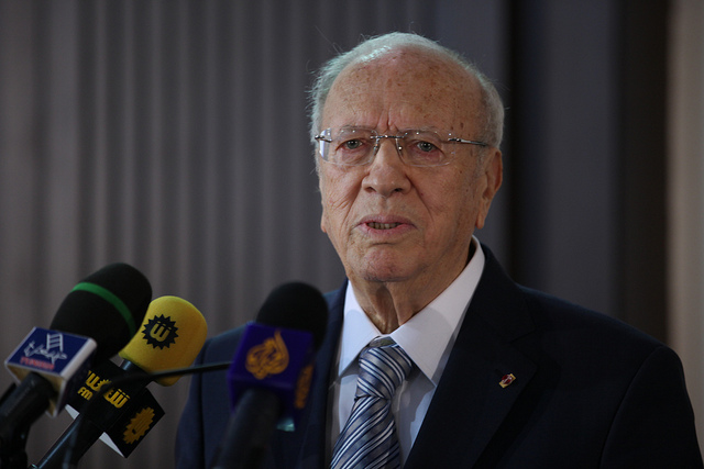 Caïd Essebsi credits Human Rights for All FIDH (licence creative commons)