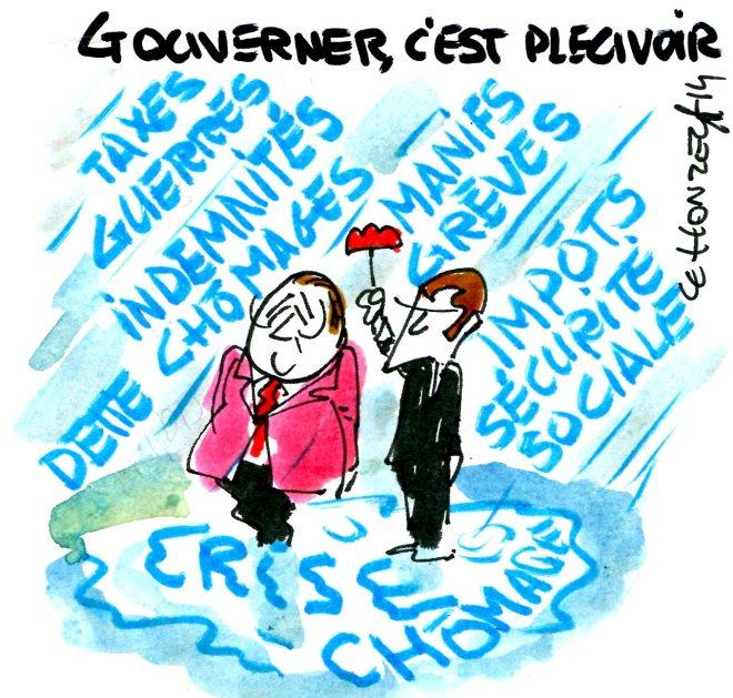 gouverner c'est pleuvoir rené le honzec