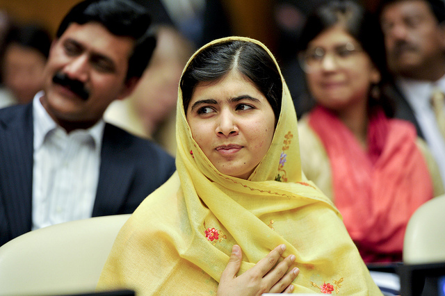 malala prix nobel credits United nations (licence creative commons)