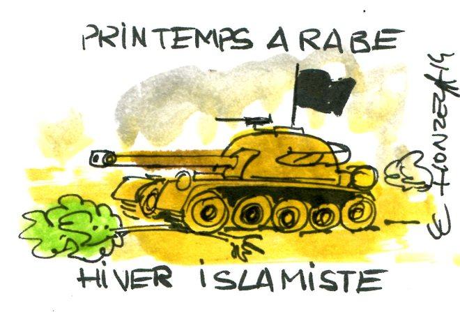 printemps arabe rené le honzec