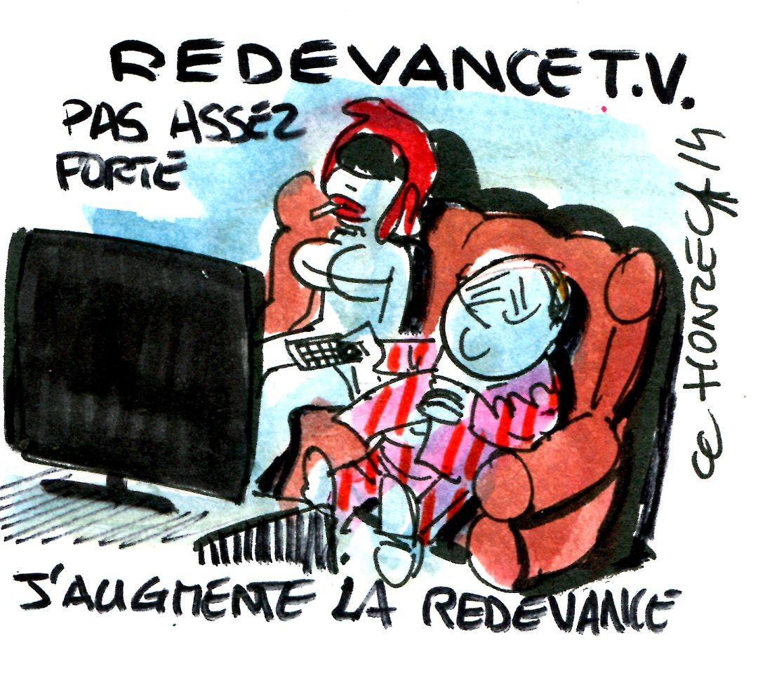 La redevance t l vision augmente contrepoints - Redevance tele exoneration ...