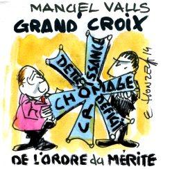 Manuel Valls Grand-Croix de l'Ordre du Mérite